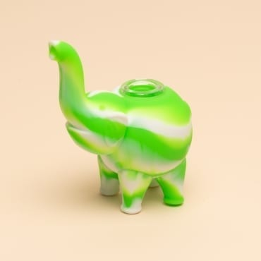 mini elephant silicone bubbler 6
